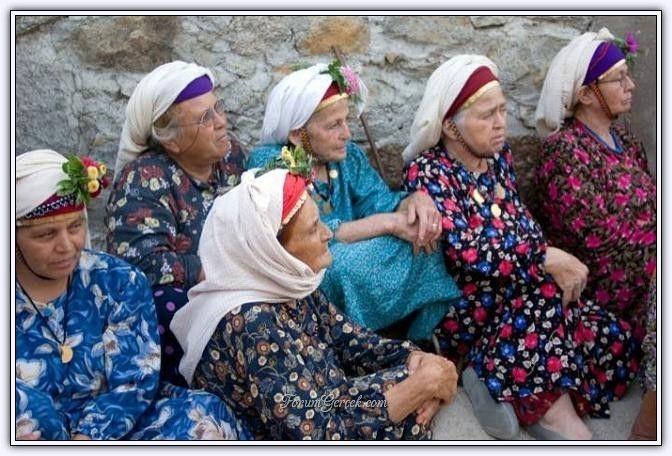 Çomakdağ Kızılağaç Köyü Kadınları (Muğla) - Forum Gerçek