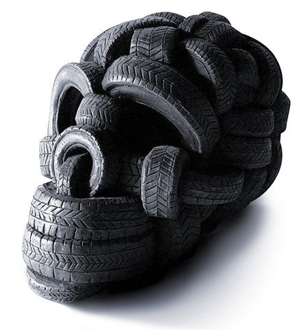 Tire skull. Great.