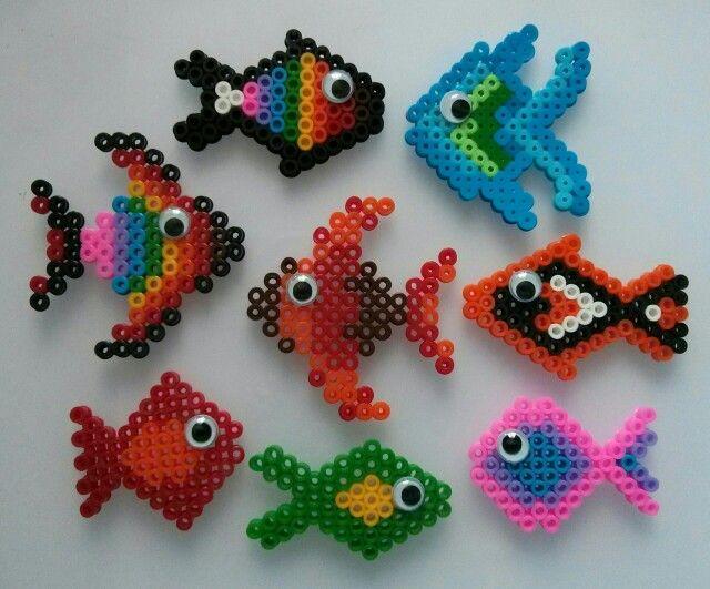 Hama bead fish