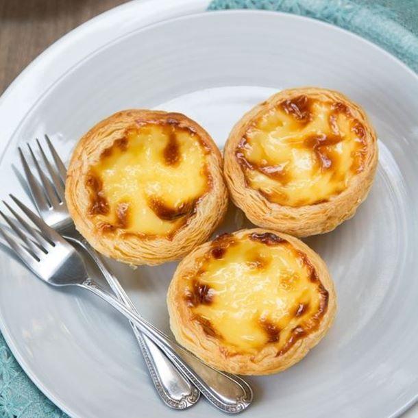 Pasteis de nata (petit flan portugais)