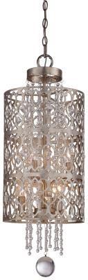 Minka - 4846-276 - Six Light Pendant - Florentine Silver
