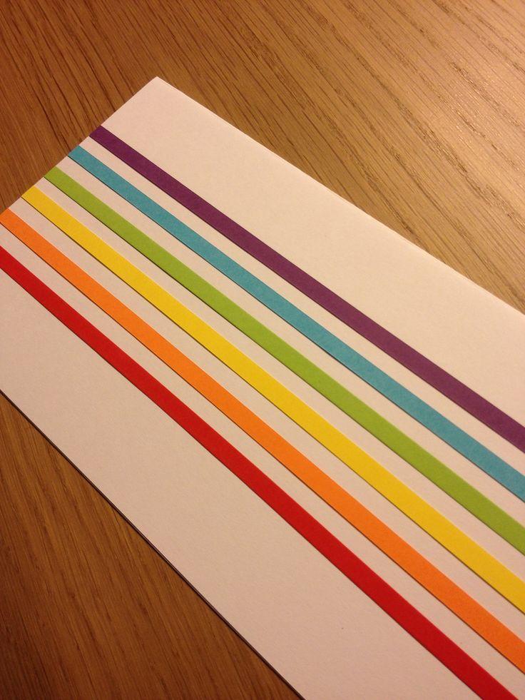 Kommunion Karte Regenbogen Einladung