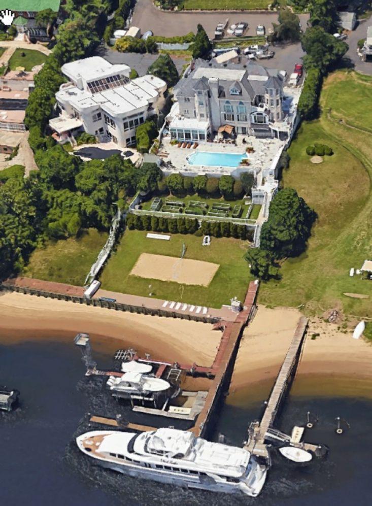 Frank montecalvo house billionaire homes yacht