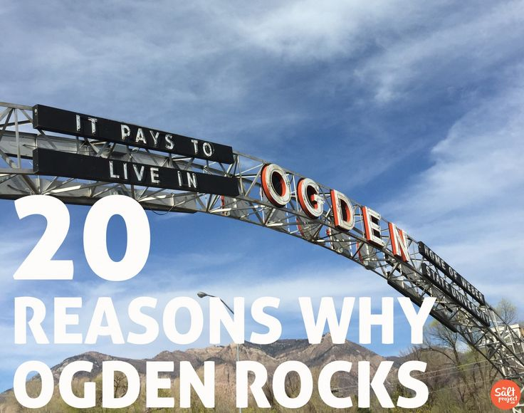 The Salt Project | Things to do in Utah with kids | 20 Reasons why Ogden City Rocks | Bucket List
