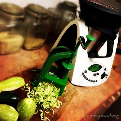 benriner spiralizer for raw noodles from just about any veggie!
