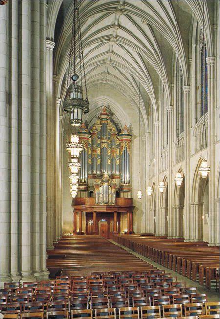 1976 Flentrop Organ in Duke University Chapel, Durham, North Carolina