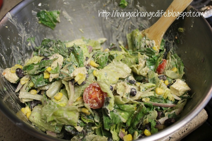 This site has wonderful LF receipes.  Great site.  Living a Changed Life: Recipe Review: Chipotle Chicken Taco Salad