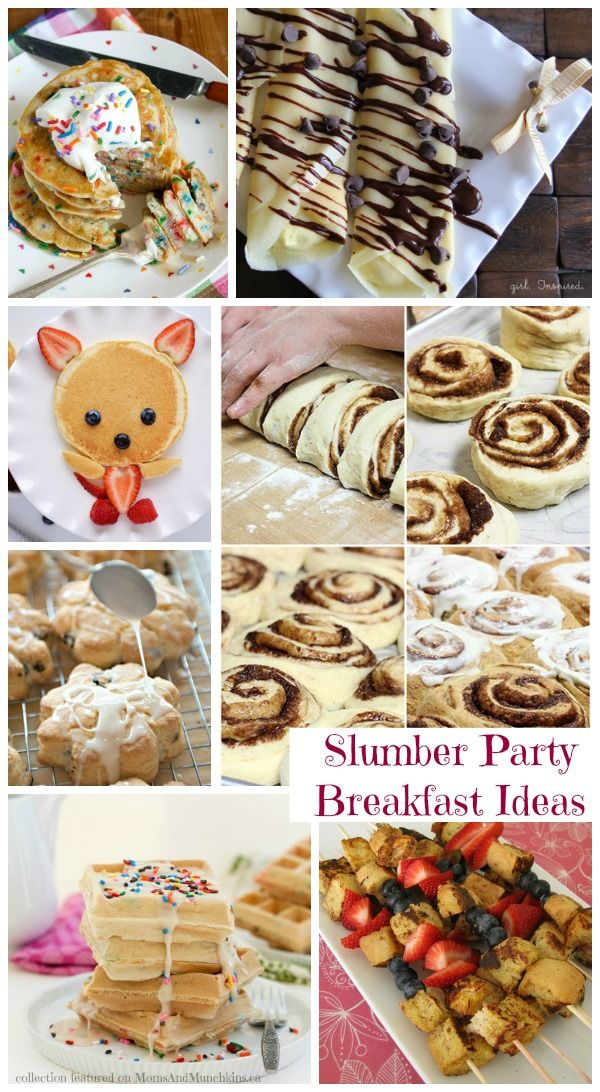 Slumber Party Food For Breakfast (Collection) - Moms & Munchkins