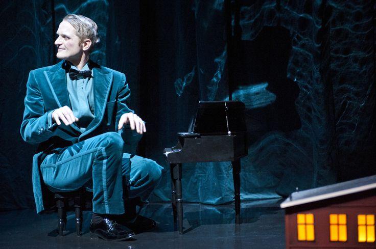 Skådespelare/musiker Martin Sundbom.