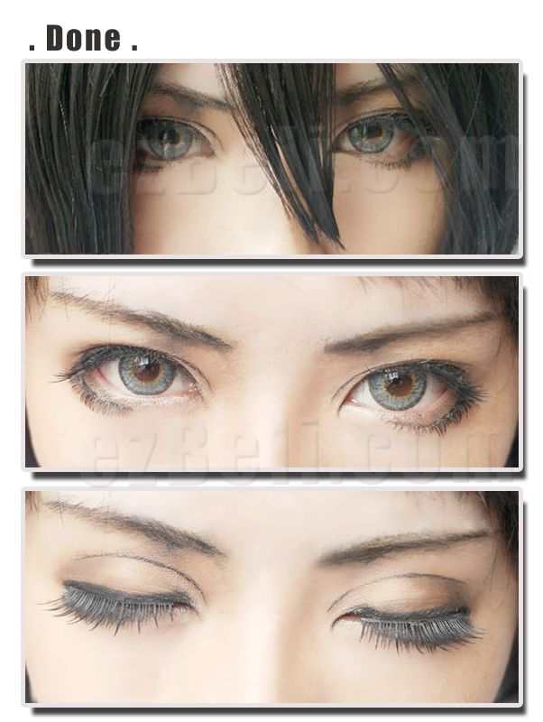 Make-up Sharing : Attack on Titans Mikasa Eye Makeup