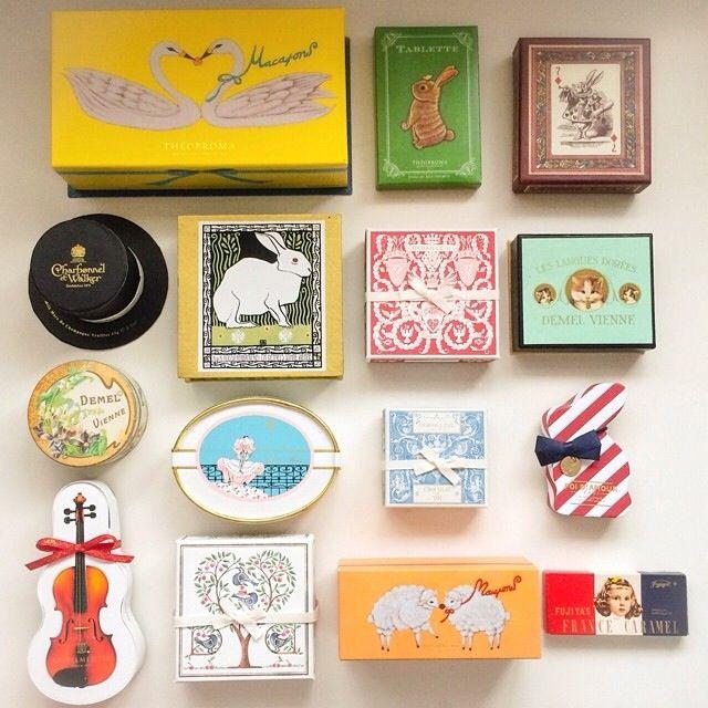 """クッキーボックスコレクション (""""Cookie box collection"""")"""