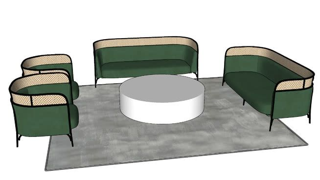 Phenomenal Sofa 3D Warehouse In 2019 Sofa Sketchup Model Malibu Homes Machost Co Dining Chair Design Ideas Machostcouk