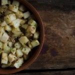 Liver potatoes. Liver is extraordinarily nourishing. I watch different vegetables like kale and cauliflower trend themself in and out, but liver remains a mighty power-house of nutrition!
