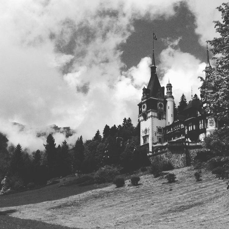 Peles Castle, Romania. Looks like Vlad Tepes aka Vlad Dracul aka Dracula, still lingers somewhere in the vicinity....  #travel