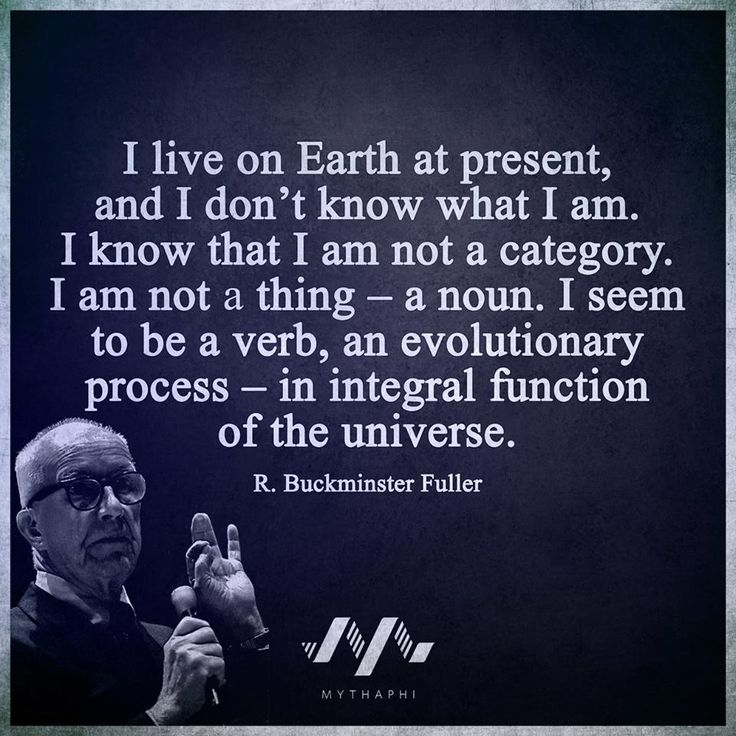 Buckminster Fuller / Insight <3