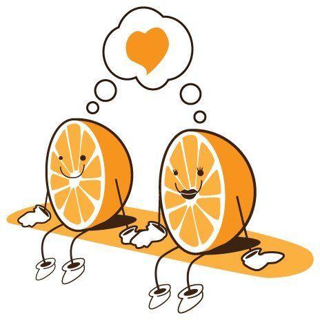 Humor - A minha meia laranja.