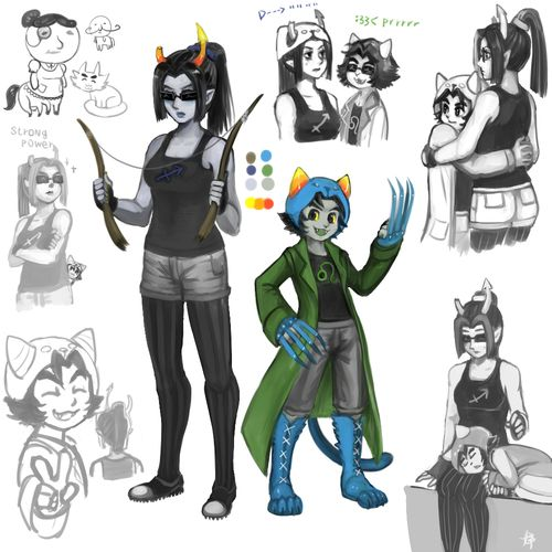 Pin homestuck nepeta x gamzee car pictures on pinterest