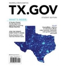 Solution Manual for TX.GOV 1st Edition by Maxwell