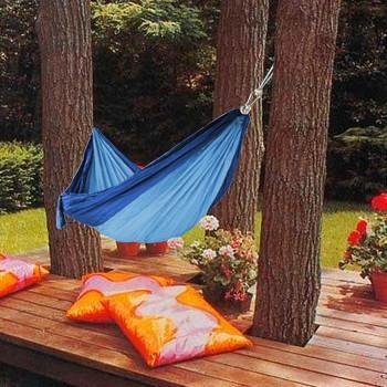 Teffeta Double Size Camping Hammock (Easy Folding) - Next Deal Shop  - 1