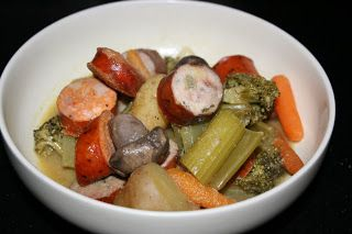 A Year of Slow Cooking: Slow Cooker Sausage and Vegetables Medley Recipe