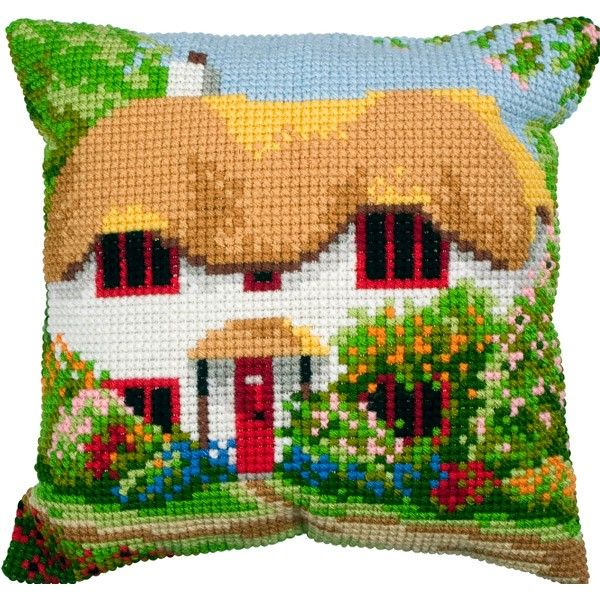 cross stitch cottages - Google Search