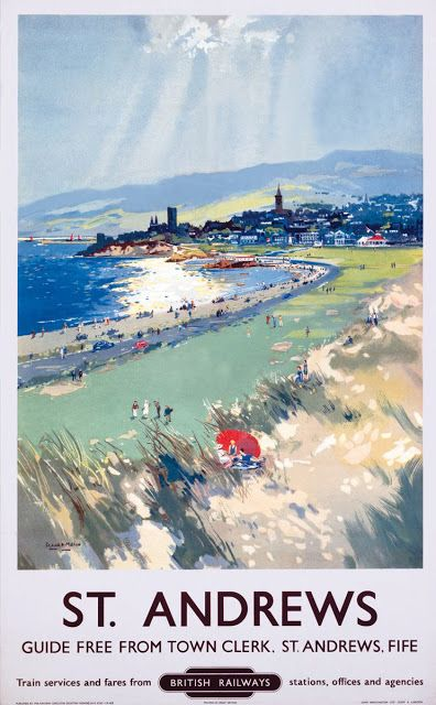 18 best east neuk others images on pinterest fife scotland art artists railway posters part 4 malvernweather Gallery
