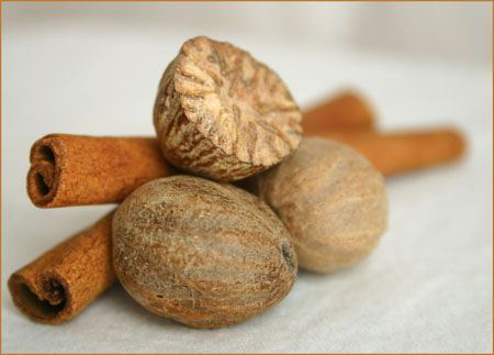 Cinnamon & Nutmeg mixed with your body wash will help with dark spots on your skin and make your skin glow.
