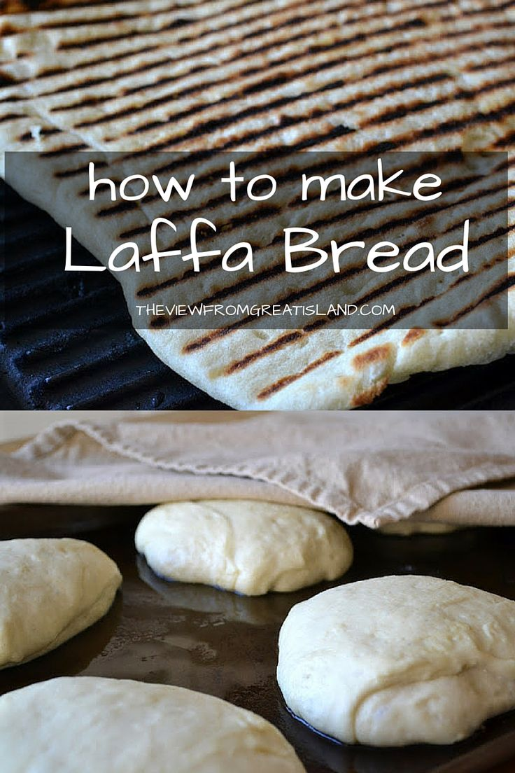 Laffa bread is super easy to make, I like it so much better than pita!  It's the ideal bread to serve with all kinds of Middle Eastern food.