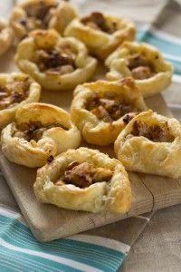 Recept voor kip in bladerdeeg hapje / Receipt for chicken in puff pastry snack