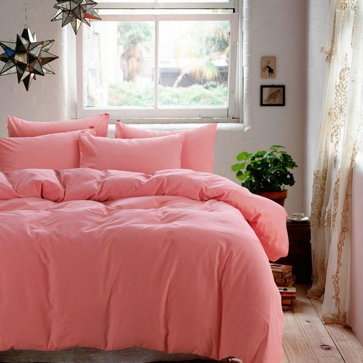 Great Minimalism Pink Bedding Scandinavian Design Bedding Teen Bedding Kids  Bedding Part 31