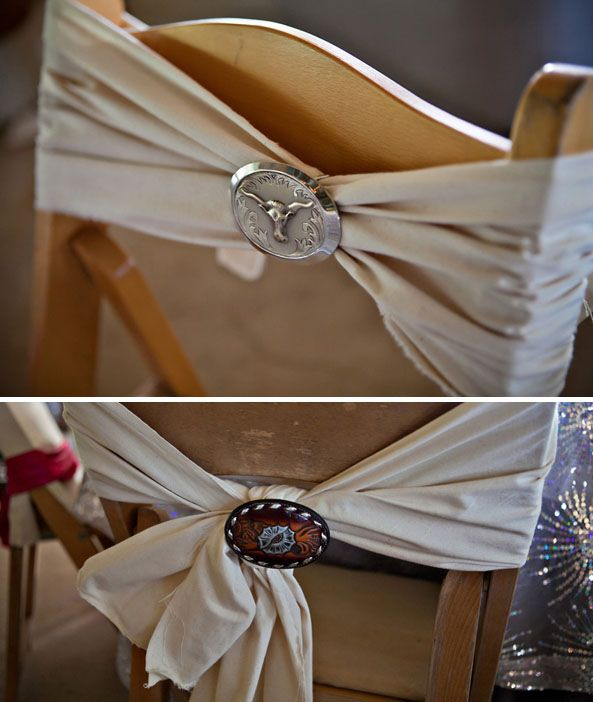 Chairs Featured Wedding: Junk Gypsy Plans a Miranda Lambert & Blake Shelton Wedding Reception as only Best Friends Can