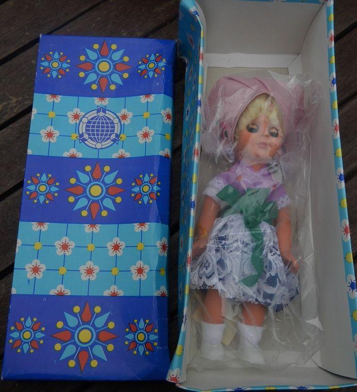 #DDR Spreewaldpuppe 1980 Puppe OVP UNBENUTZT Kolkwitz Souvenirpuppe Tracht   eBay