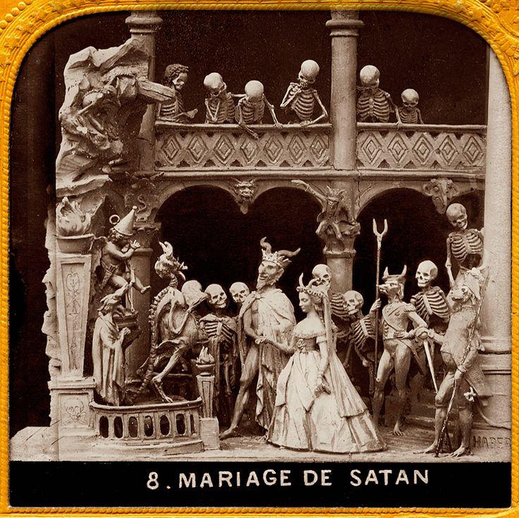 Diableries - Mariage de Satan
