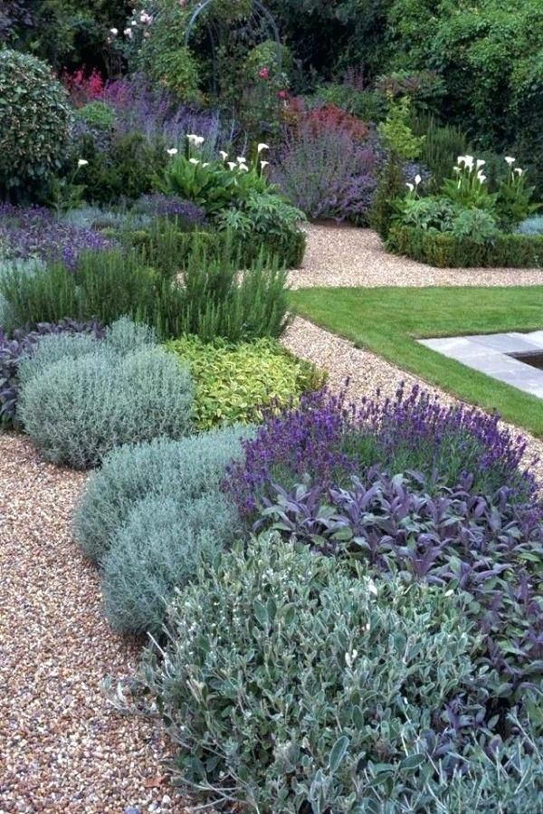 Front Yard Landscaping Plants Full Sun Low Maintenance Drought Tolerant By Garden Ideas Canada Home Pinterest