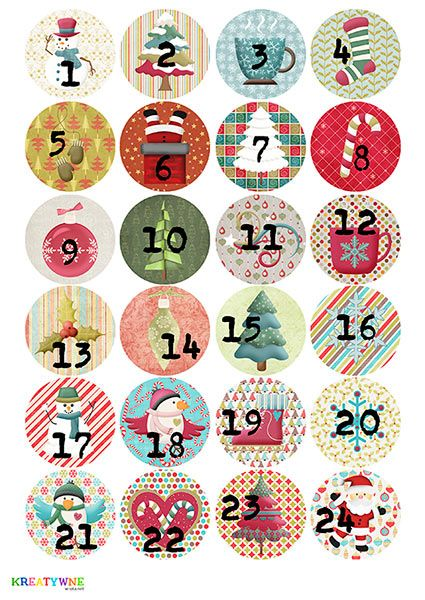 Kalendarz adwentowy | kreatywne.wrota.net