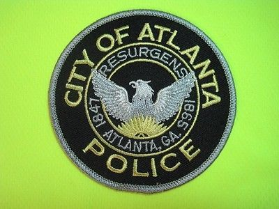 Georgia Atlanta Police Patch Shoulder Size Capitol City*