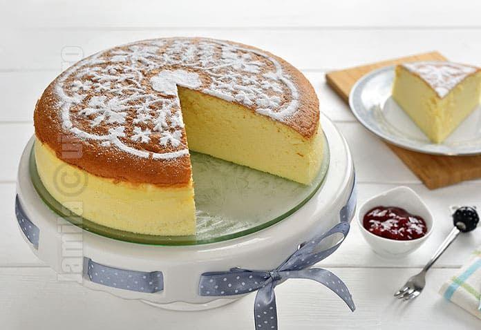Cheesecake japonez – reteta video