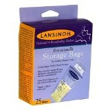 Lansinoh 20435 Breastmilk Storage Bags, 25-Count Boxes (Pack of 4) (Baby Product)By Lansinoh