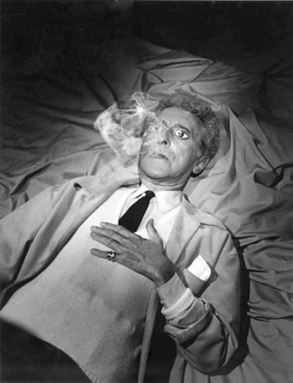 Jean Cocteau par Lucien Clergue
