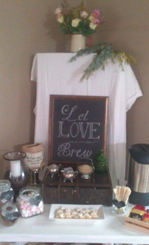 17 best images about home coffee bar on pinterest house for Coffee bar for wedding