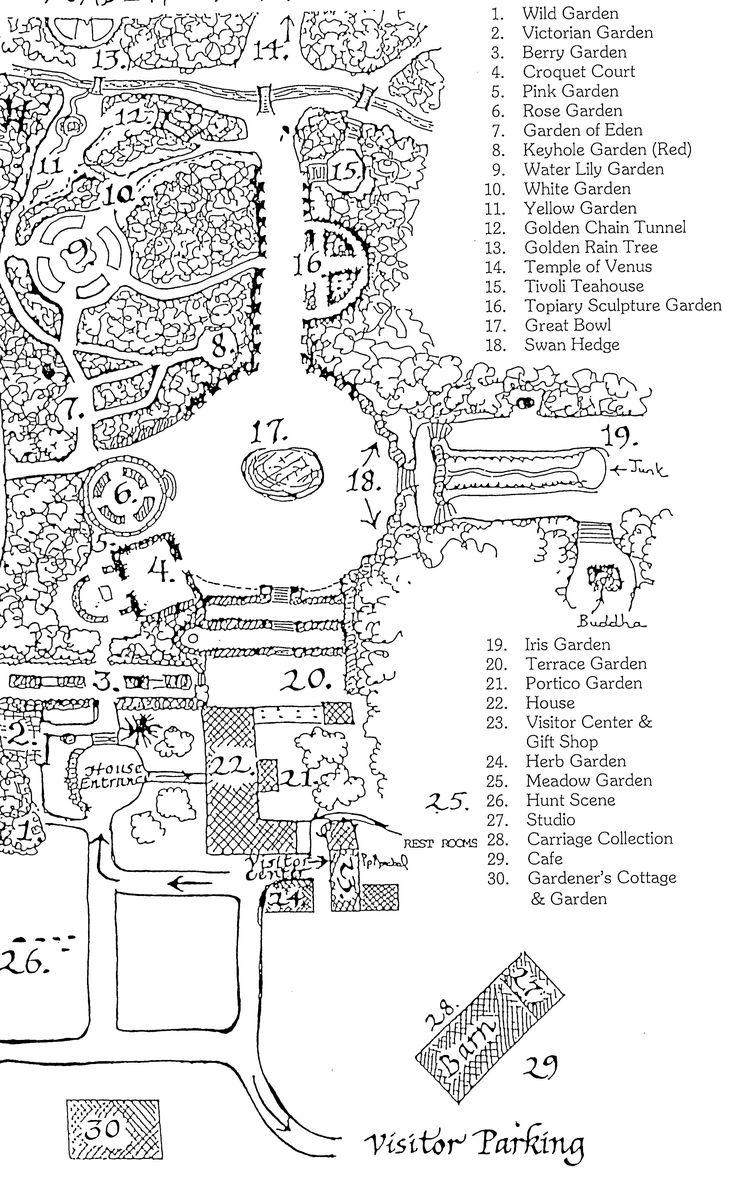 Physic garden wikipedia - Ladew Topiary Gardens