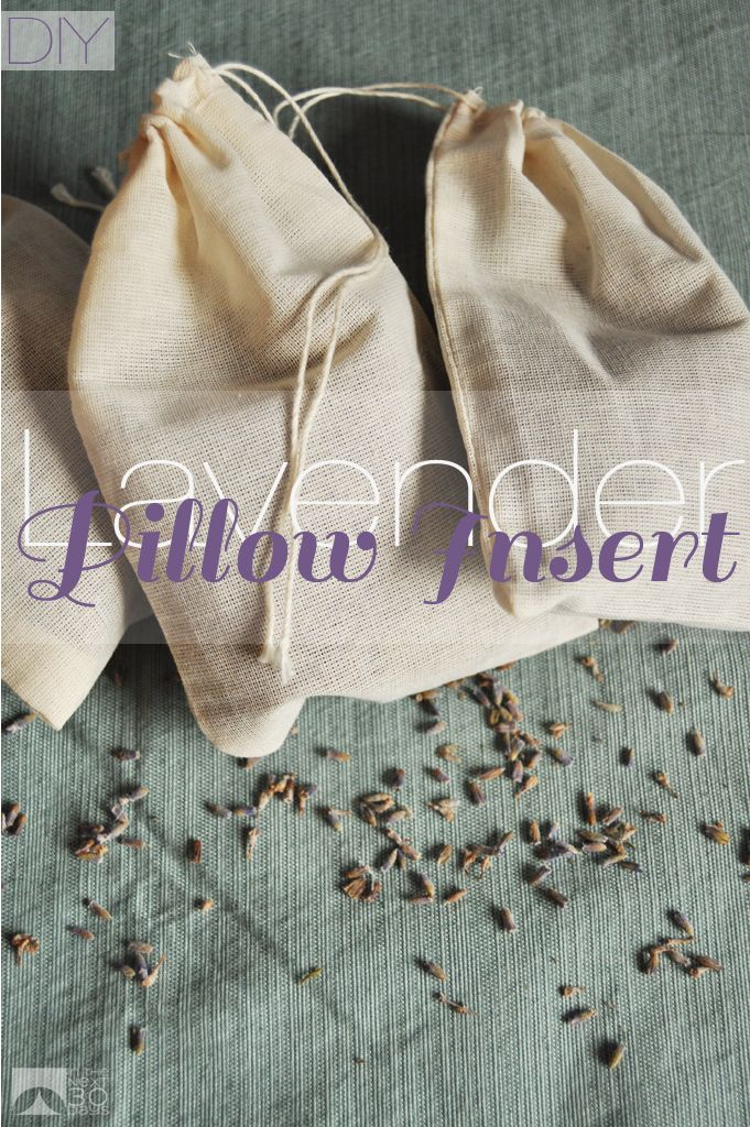 DIY Lavender Pillow Insert | In The Next 30 Days
