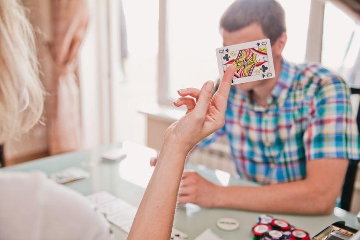 casino-themed party Poker Themed Engagement Poker photoshoot