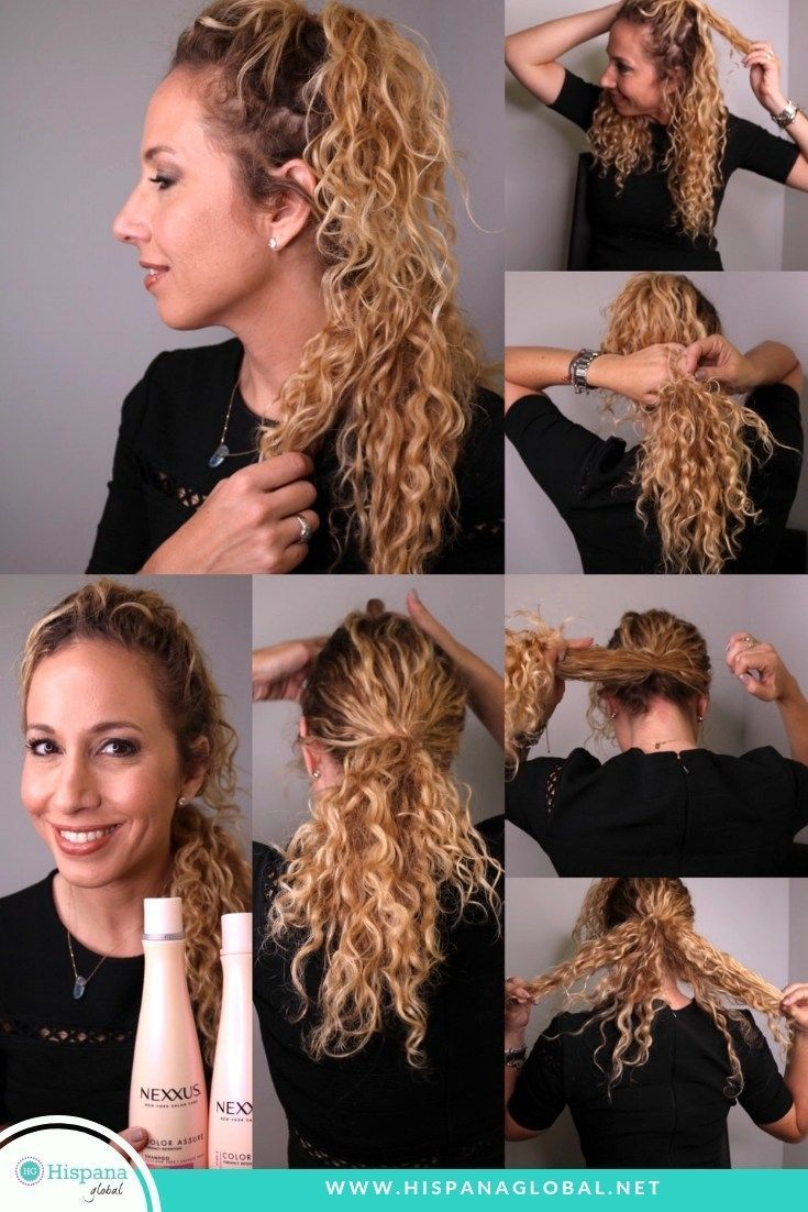 hair tutorial: easy and chic double ponytail   beauty hacks
