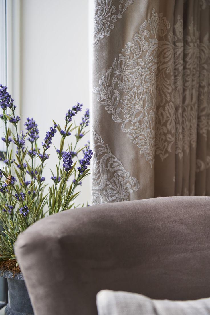 Curtain details, Sable Interiors