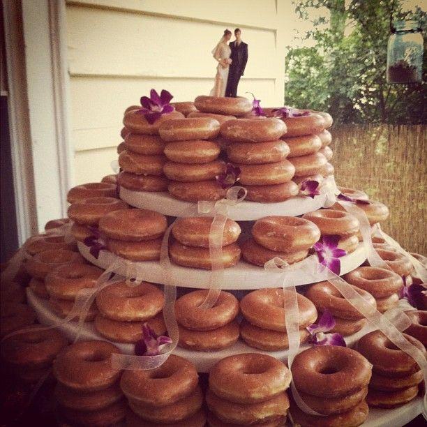 The 25 best Krispy kreme wedding cake ideas on Pinterest