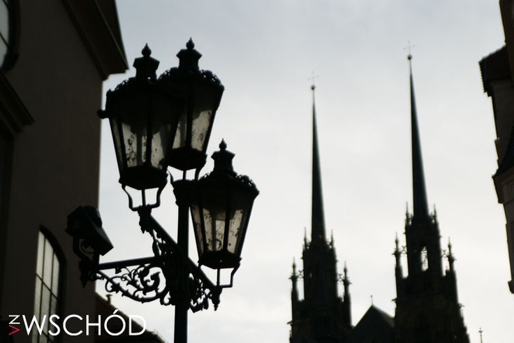 Brno - widok na Katedrę