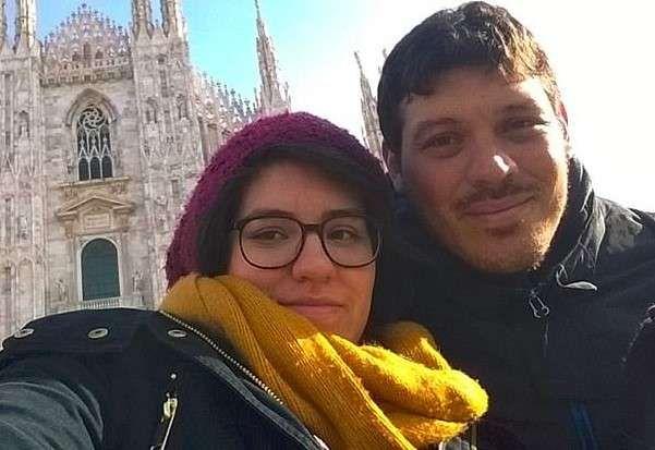 Renzo Martin Silva and his girlfriend Lieutenant Maria Eugenia Ulivarri Rodi pictures