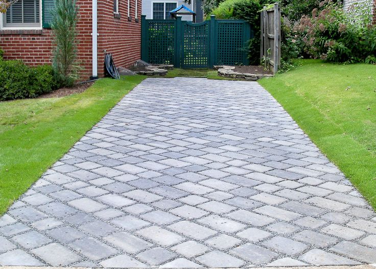 106 - 3 After Permeable Paver Driveway in Arlington