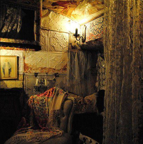 .: Minis Man, Bohemian Valhalla, Bohemian Lifestyle, Tins Ceilings, Magnolias Pearls, Ceilings Tile, Gypsy Wagon, Tins Tile, Tins Art